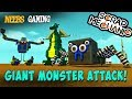 Scrap Mechanic - Giant Monster Attack!