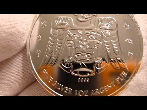 2009 Royal Canadian Mint 2010 Vancouver Olympic Games 1 Ounce Silver Coin Review