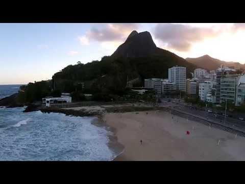Leblon Beach in Rio de Janeiro - The Drone Eyes