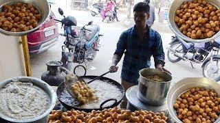 PUNUGULU   MOST COMMON STREET FOOD IN INDIA    #SallaPunugulu   StreetFoodos