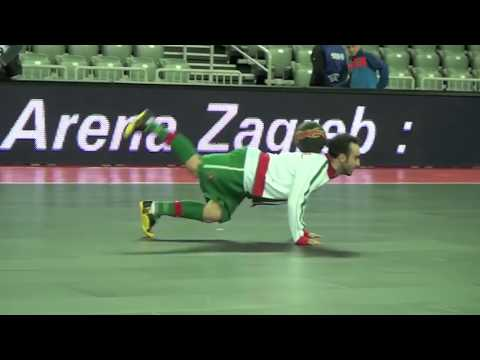 Séan Garnier World freestyle Champion (S3) Vs Ricardinho (Best futsal player), Portugal futsal team