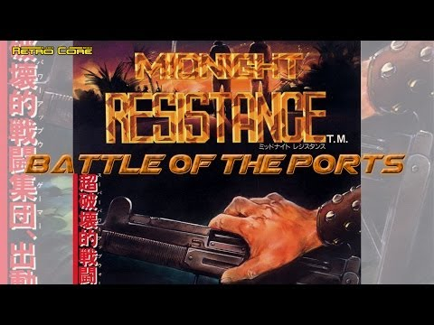 Battle of the Ports - Midnight Resistance ミッドナイト レジスタンス (Show #16)