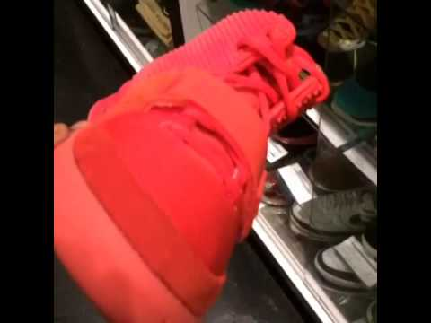 Air Yeezy 2 Real pair at ATC