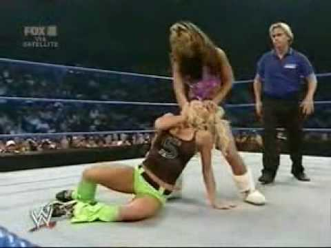 Melina Vs Torrie Wilson On Smackdown video