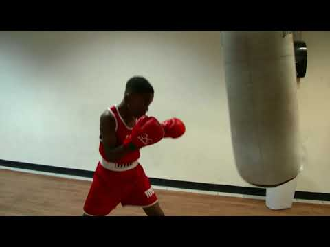 "11 year old boxing prodigy "" Joe Boxer"" hits the bag"