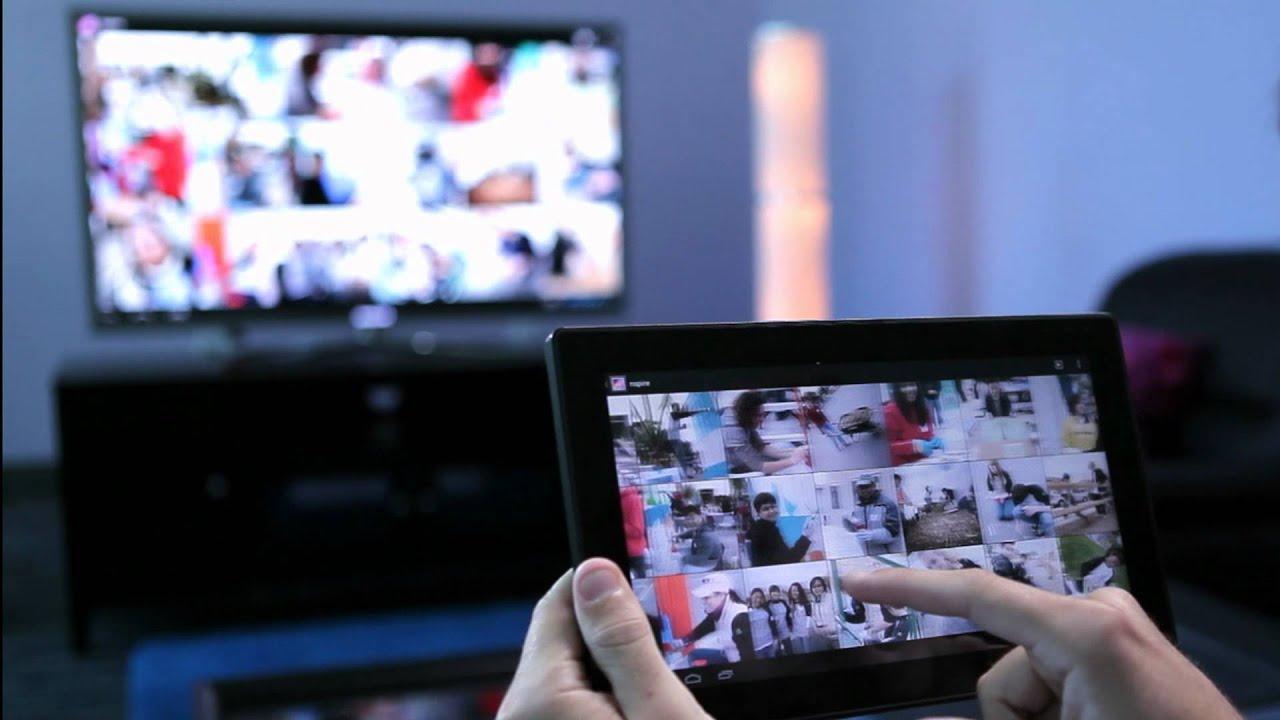 Как онлайн видео в браузере транслировать на экран телевизора с компьютера? 65