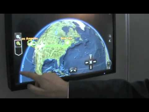Thales in-flight interactive map is portal to your world