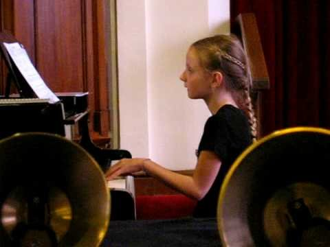 Zion Lutheran School:  60th Anniversay (Piano Solo #3)