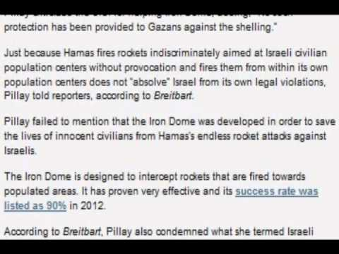 UN Blasts Israel for Not Sharing Iron Dome with Hamas
