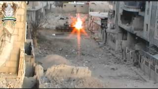 18+ MEN vs TANKS in Darayya - Party Hard with T-72