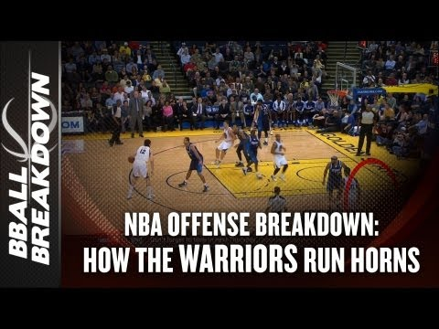 NBA 2012-13: How The Golden State Warriors Run the HORNS Set