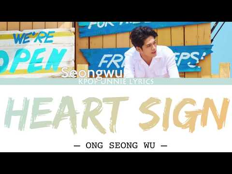Download Ong Seong Wu 옹성우 – Heart Sign Prod. Flow BlowColor Coded s Han/Rom/Eng/가사 Mp4 baru