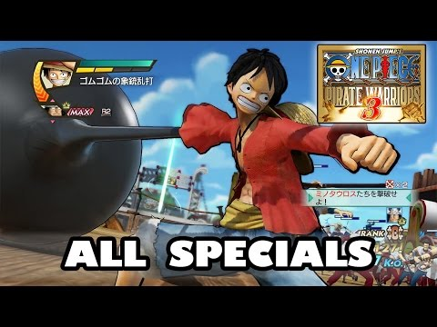 One Piece Pirate Warriors 3 All Specials | ワンピース 海賊無双3 video
