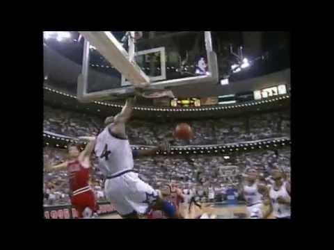 Nick Anderson Ices Jordan - #TBT