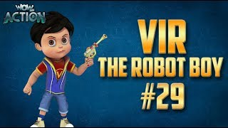Vir: The Robot Boy | Hindi Cartoon Compilation For Kids | Compilation 29 | WowKidz Action