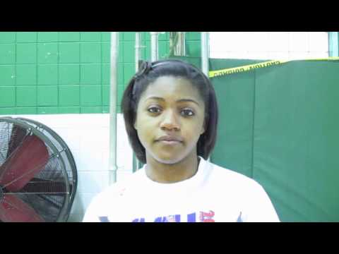 Nerinx Hall High School junior sprinter Peyton Chaney interview - 05/19/2011