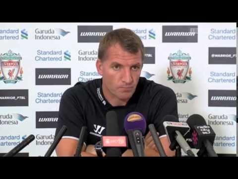 Brendan Rodgers Pre Manchester City Press Conference