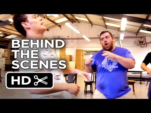 The World's End Behind The Scenes - Fight Rehearsals (2013) - Cornetto Trilogy HD