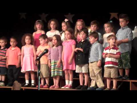 St Pius X School Westerly RI Variety Show 2010 Pre K Part II - 06/04/2010