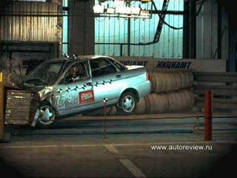 Lada Priora Crash Test Lada Priora Crash 1 Euroncap