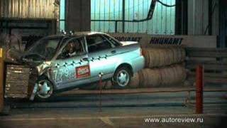 Lada Priora Crash #1 EuroNCap, brand new RUSSIAN car