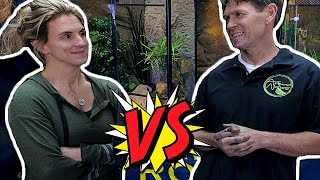 YOU WON'T BELIEVE THE REPTILE CAGE LORI BUILT!!!  | BRIAN BARCZYK