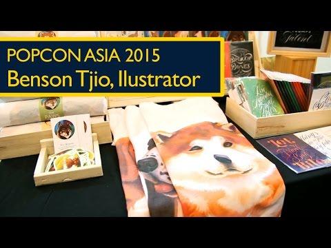 Popcon Asia 2015: Benson Tjio, Ilustrator