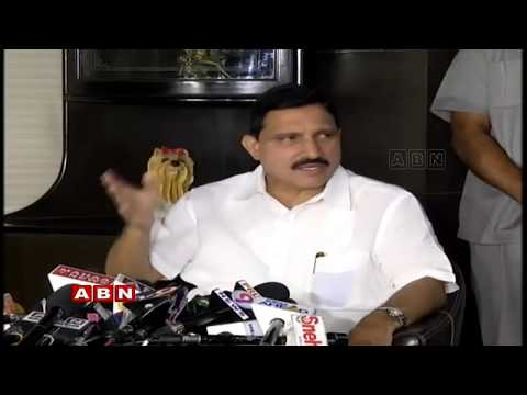 TDP MP Sujana Chowdary Press Meet Live | ABN Telugu