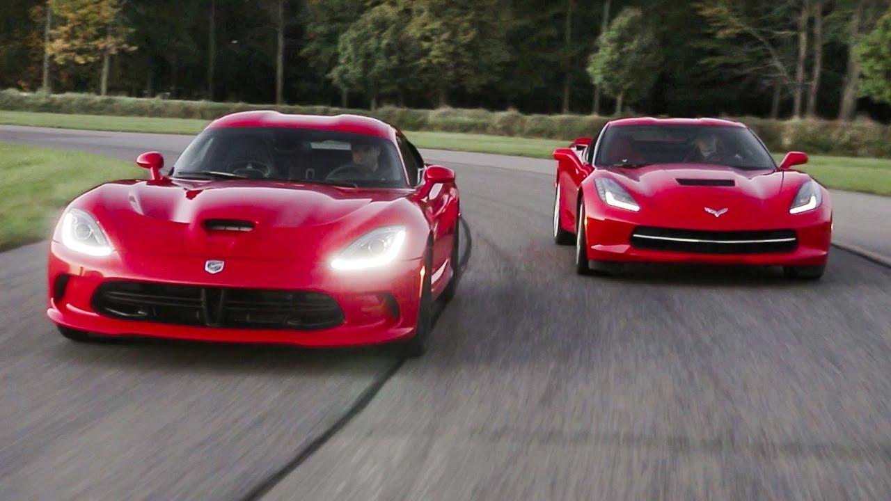 2014 Srt Viper Gts And 2014 Chevrolet Corvette Stingray