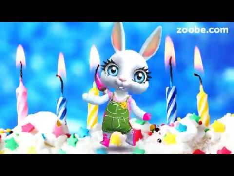 Видеооткрытка с поздравлением дня рождения 597
