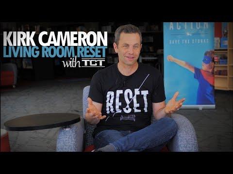 Kirk Cameron's Living Room Reset Exclusive