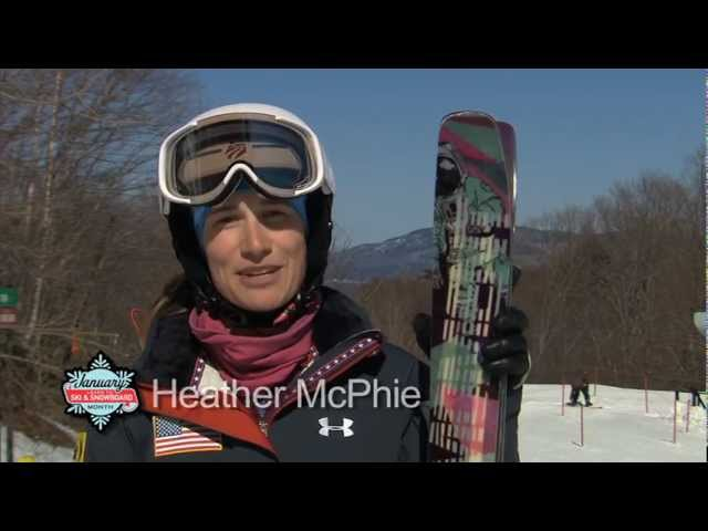 Heather McPhie - Learn To Ski And Snowboard Month