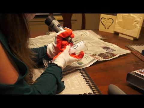 DIY How to Dremel on Glass