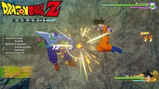 DRAGON BALL Z: KAKAROT - Primer contacto y COMBATE vs PICCOLO || Gameplay PS4 en Español