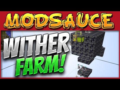Minecraft Mods - HermitCraft MODSAUCE {EP.24} Wither Farm!