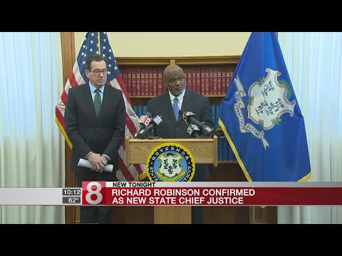Richard Robinson Confirmed As New State Chief Justice