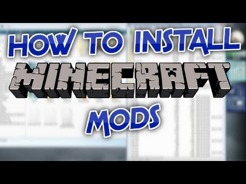 How to Install Minecraft Mods! (1.5.2) (HD)