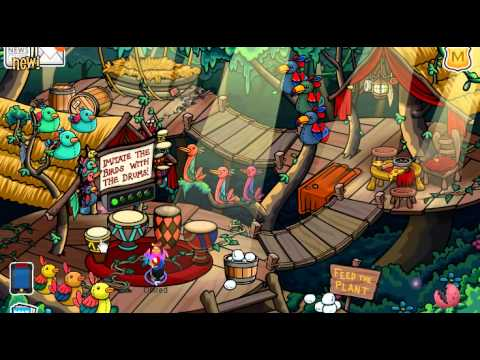 Club Penguin Adventure Party 2011 Scavenger Hunt Cheats