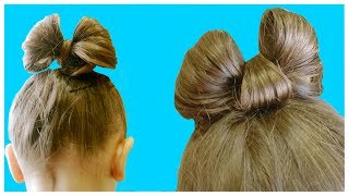 ???? HAIR BOW ???? Детская Прическа Бантик ????cute HAIR BOW HAIRSTYLE for kids ???? HAIR BOW for SH