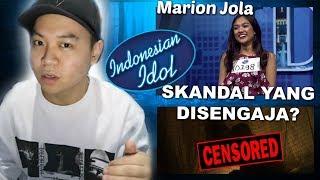 TEORI KONSPIRASI : Video Skandal Marion Jola Indonesian Idol Sengaja Di Publikasikan!
