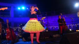"La Santa Cecilia ""Campos de Fresa/Strawberry Fields"" @ Skirball Cultural Center L.A. 8-23-12"