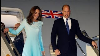 Arrival Moments of Prince William and Kate Middleton