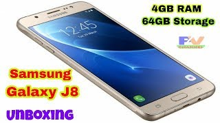 Samsung Galaxy J8 Unboxing & First Look, Specs, Camera Price and More All Review .