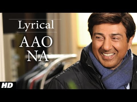 Aao Na I Love New Year Full Song with Lyrics | Sunny Deol Kangana...