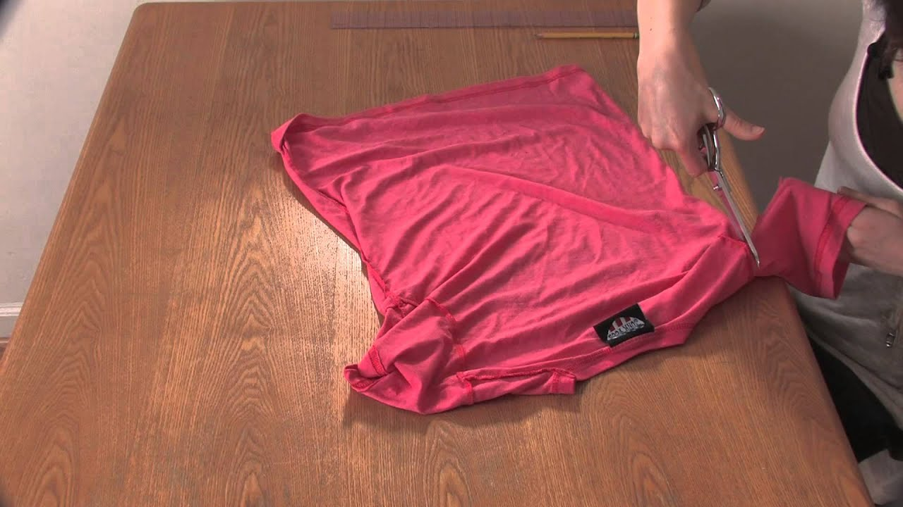 How to Cut a T-Shirt Into a Cut T Shirt Designs For Girls