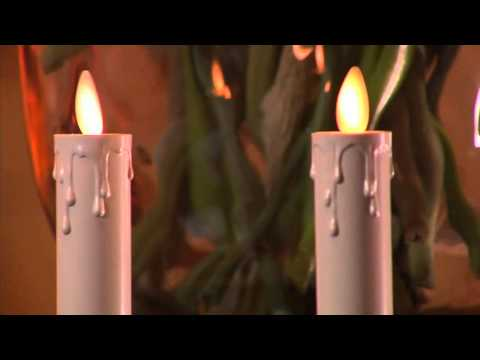 Luminara Set of 2 Dual-Powered Flameless Taper Candles on QVC