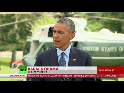 Obama announces new round of sanctions against Russia