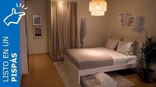 Dormitorio ordenado en un pispás - IKEA