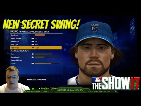 How To Make A Beast Created Player! MLB The Show 17 [Diamond Dynasty Road to the Show] Tips