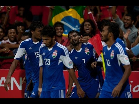 Kyrgyzstan vs Maldives: AFC Challenge Cup 2014 (Full Match)